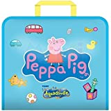 Aquadoodle Peppa Pig Doodle Travel Water Doodle Mat, Official Tomy No Mess Colouring & Drawing Game, Suitable for Toddlers an