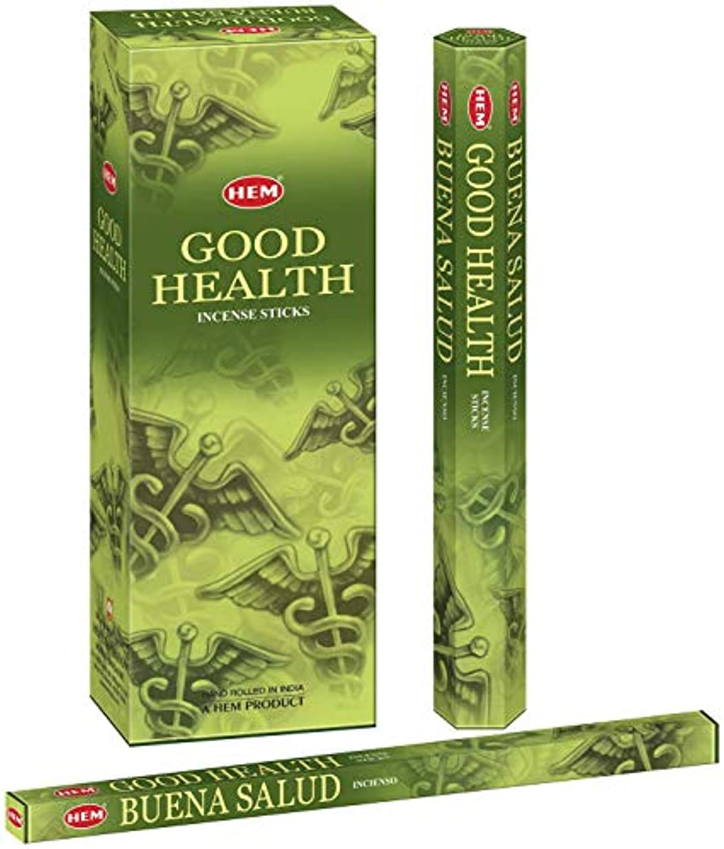 立ち寄る筋特殊Hem Good Health Hand Rolled Incense Sticks - 120 Sticks