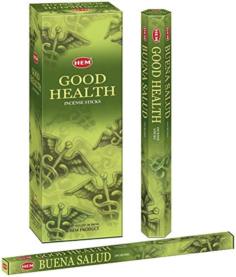 医師決済癒すHem Good Health Hand Rolled Incense Sticks - 120 Sticks