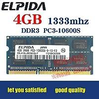 Elpida ddr34GB 1333MHzノートPC RAM pc3–10600sと互換性2GB 1066