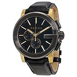 グッチ 【GUCCI】グッチ YA101203 Gベゼル G-Chrono Collection  クロノグラフ ナログディス カジュアル 紳士的 Men's Watch  メンズ ウォッチ 腕時計 [並行輸入品]