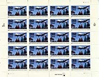 1998 BERLIN AIRLIFT #3211 Pane of 20 x 32 cents US Postage Stamps by USPS