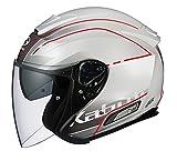 BEAMS オージーケーカブト(OGK KABUTO) バイクヘルメット ジェット ASAGI BEAM(ビーム) パールホワイト (サイズ:M) 569488