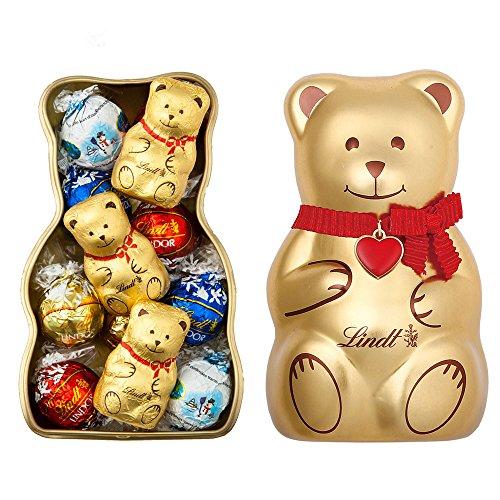 リンツ Lindt チョコレート リンドール リンツテディ缶 ...