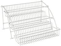 (White) - Pull Down Spice Rack by Rubbermaid