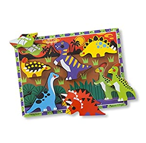 Dinosaurs Chunky Puzzle: Puzzles (Wooden) - Chunky Puzzles