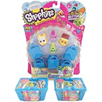 Shopkins Season 1 Value Pack - 9 Shopkins, 5 Bags and 2 Baskets [並行輸入品]