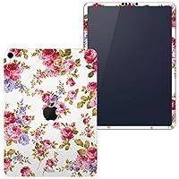 igsticker iPad Pro 11 inch インチ 対応 apple iPad Pro11 シール アップル アイパッド A1934 A1979 A1980 A2013 iPadPro11 全面スキンシール フル 背面 側面 正面 液晶 タブレットケース ステッカー タブレット 保護シール 人気 花 フラワー ピンク 薔薇 008837