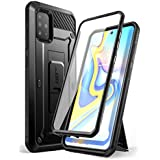 SupCase Unicorn Beetle Pro Series Designed for Samsung Galaxy A51 Case (Not Fit A50), Full-Body Rugged Holster & Kickstand Case with Built-in Screen Protector (Black)