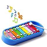 8音符 子供 木琴 キッズ 音源 パーカッション ベビー 玩具