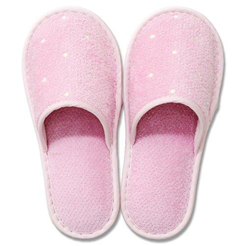 ピュアコロン 洗えるスリッパ ピンク(1足入)
