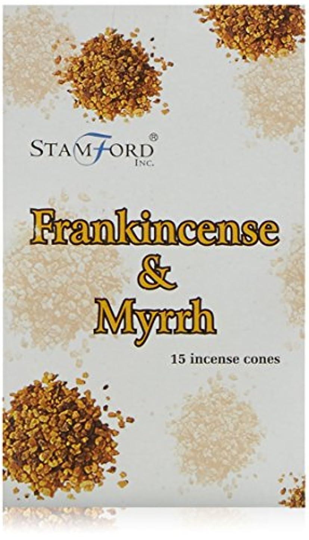 コスト爪マイクロStamford Frankincense Incense Cones by Stamford