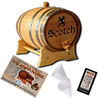 Engraved AmericanオークAgingバレル–デザイン003: Scotch 5 Liter