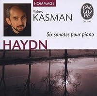 6 Sonates Pour Piano by Yakov Kasman