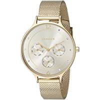 Skagen Women's SKW2313 Anita Gold Mesh Watch