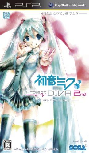 初音ミク -Project DIVA- 2nd 特典 ねんどろいどぷらす「初音ミク Project DIVA」特典Ver チャーム付き - PSP