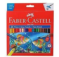 ファーバーカステルFaber Castellスクールシリーズフル長水24色鉛筆Shades