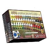 [Warpaints]Warpaints Army Painter Mega Paint Set 3 WP8021 アーミーペインター メガペイントセット [並行輸入品]