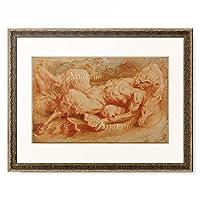 ピーテル・パウル・ルーベンス Peter Paul Rubens 「Liegender Pan, 1605–1608 (?).」 額装アート作品