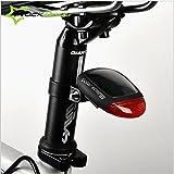 自転車用 ソーラー充電式 テールライト LEDライト バッグライト [並行輸入品]