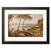 ジョゼフ・マロード・ウィリアム・ターナー Turner, Joseph Mallord William 「Plymouth Dock, from near Mount Edgecumbe.」 額装アート作品