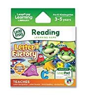 LeapFrog Letter Factory Learning Game (works with LeapPad Tablets and Leapster GS) [Floral] [並行輸入品]