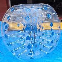 StrongキャメルボディZorb BallsバンパーインフレータブルHumanサッカーバブルボール径1.5 M4.92ft ) ブルー PLG50