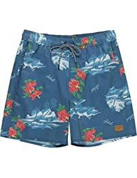 (ブリクストン) Brixton メンズ 水着?ビーチウェア 海パン Havana Trunk Shorts [並行輸入品]
