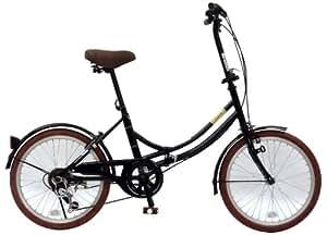 CHACLE(チャクル) ノーパンク自転車 折りたたみ[20インチ 外装6段変速] グリーン