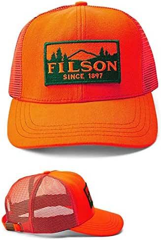 フィルソン メッシュキャップ Filson [#30237/#13331] LOGGER MESH CAP 帽子 [ COLOR : ORANGE ] [ SIZE : ONE SIZE ]