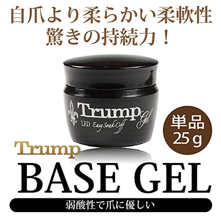 厚くするひらめき厄介なTrump ベースジェル 25g