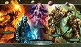 MTG Planeswalker (Chandra, Liliana, Garruk, Ajani, Jace) Play Mat Gamemat Mousepad by magicthegathering [並行輸入品]