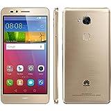 Huawei Gr5 Kivi 4G LTE Fingerprint Sensor Octa Core 16GB 13 MP 2GB Ram Dual Sim Factory Unlocked (Gold) [並行輸入品]