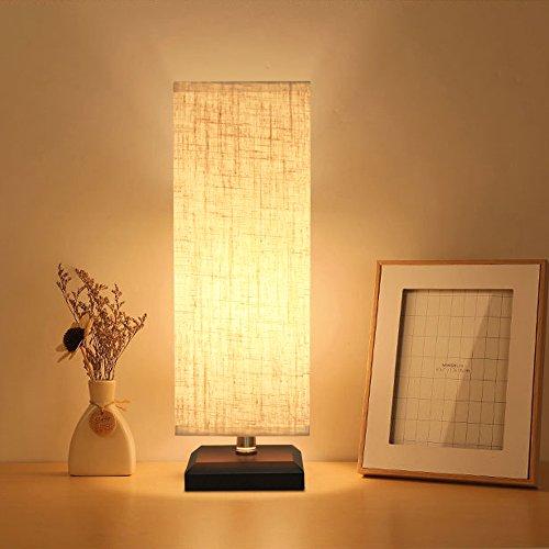 ZEFFO 間接照明 和風 インテリア テーブルライト ベッドサイドランプ 和風スタンド