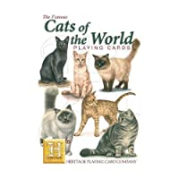Heritage Playing Cards. Cats Of The World. [Toy] by Heritage Playing Cards