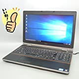 ★即使用可能!中古ノートパソコン★ Windows 10 Pro 64bit搭載 DELL デル E6520 /第2世代Core i7 2640M 2.80Ghz/メモリー 4GB/SSD 128GB/DVDスーパーマルチレコーダー搭載/15.6インチ フルHD液晶(1920x1080)/無線LAN(Wi-Fi)搭載/Bluetooth搭載/Microsoft Office 2010搭載