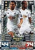 Match Attax Extra 2014/2015 Jefferson Montero/ Wayne Routledge (Swansea City) Duo Card 14/15 by Match Attax [並行輸入品]