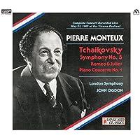モントゥー・コンダクツ・チャイコフスキー (Tchaikovsky : Symphony No.5 | Romeo & Juliet | Piano Concerto No.1 / Pierre Monteux | London Symphony | John Ogdon) [2XRCD] [Live Recording] [日本語帯・解説・対訳付]