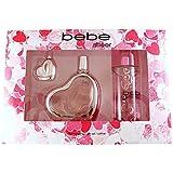 Bebe for Women Bebe Sheer - 3 Pc Gift Set 3.4oz EDP Spray, 0.33oz EDP Splash, 8.4oz Body Mist, 3 Count