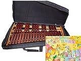 コオロギ シロフォン 高級卓上木琴 ECO32 ソフトケース 曲集セット