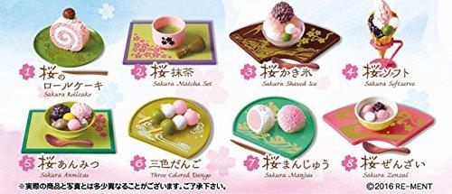 桜日和 フルコンプ 8個入 食玩・ガム (ぷちサンプル)