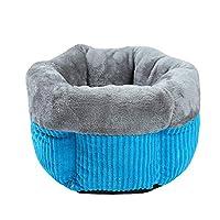 Goshang 猫用 寝袋 ペット ベッド ふわふわ キャットベッド 子犬 ハウス 保温防寒 暖かい モコモコ ペット ソファー