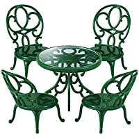 Sylvanian Families Ornate Garden Table and Chairs シルバニアファミリー 家具 ガーデンテーブルチェアーセット