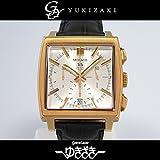 タグ・ホイヤー TAG HEUER モナコクロノグラフ CW5140 シルバー文字盤 メンズ 腕時計 【中古】