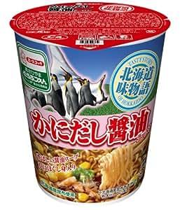 エースコック タテ型北海道味物語 かにだし醤油ラーメン 62g×12個