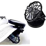 電池不要 ソーラー ミニクリップ扇風機 電気代0円 太陽光 ソーラー 帽子 お子様 熱中症 予防 対策 MA-FANBOU