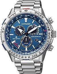 [シチズン]腕時計 PROMASTER プロマスター スカイ エコ・ドライブ電波時計 ダイレクトフライト CB5000-50L メンズ