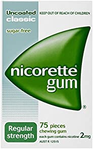 Nicorette Gum Classic 2mg 75