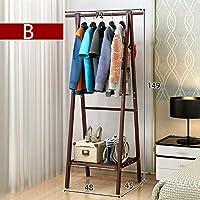 ICEY 着地ハンガー ハンガーラックハンガー 寝室 簡素 現代 アイデア ハンガー 客間 置き物棚  簡易