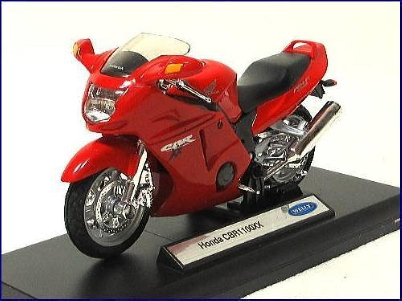 WELLY/ホンダHONDA CBR1100XX◇1/18バイクモデル